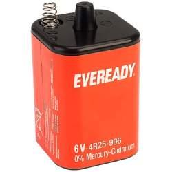 Pile 4R25 / 996 Eveready Saline 6V