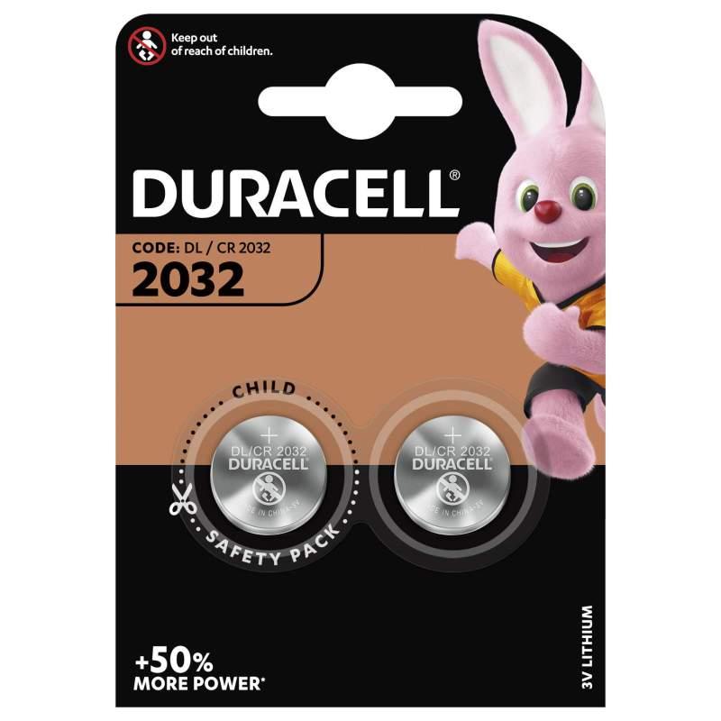 Duracell Lithium 3V CR2032 par 2