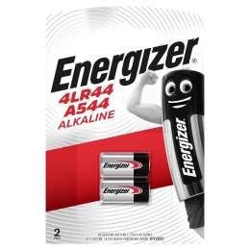 2 Piles 4LR44 / A544 / V78PX Energizer Alcaline 6V