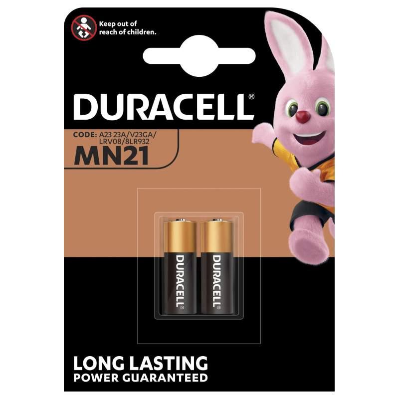 Duracell Alcaline 12V MN21 par 2