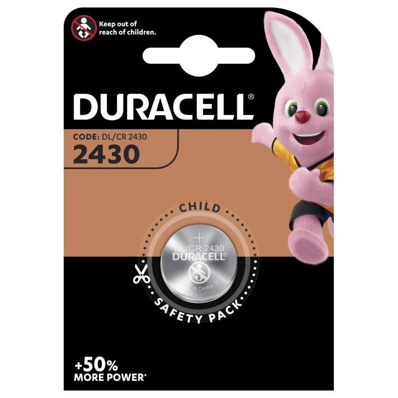 Duracell Lithium 3V CR2430 par 1