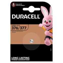 Pile 376 / 377 / SR626 / SR66 Duracell Montre