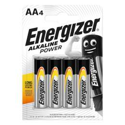 Energizer Alcaline Power AA / LR6 par 4