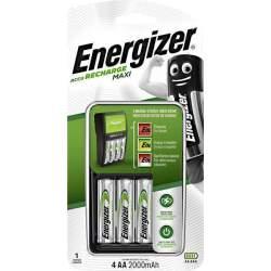 Energizer Chargeur Maxi avec 4 piles AA 2000mAh