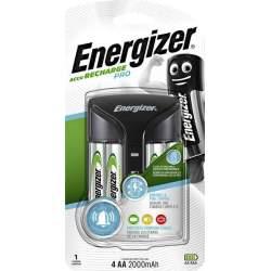 Chargeur Energizer Pro avec 4 piles AA 2000mAh