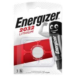 Pile CR2032 Energizer Bouton Lithium 3V