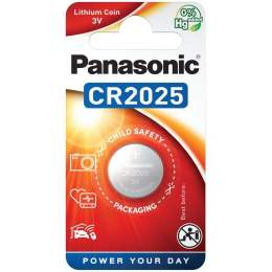 Pile CR2025 Panasonic Bouton Lithium 3V