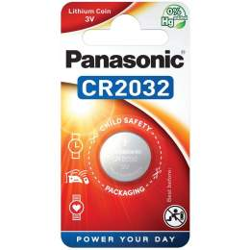 Pile CR2032 Panasonic Bouton Lithium 3V