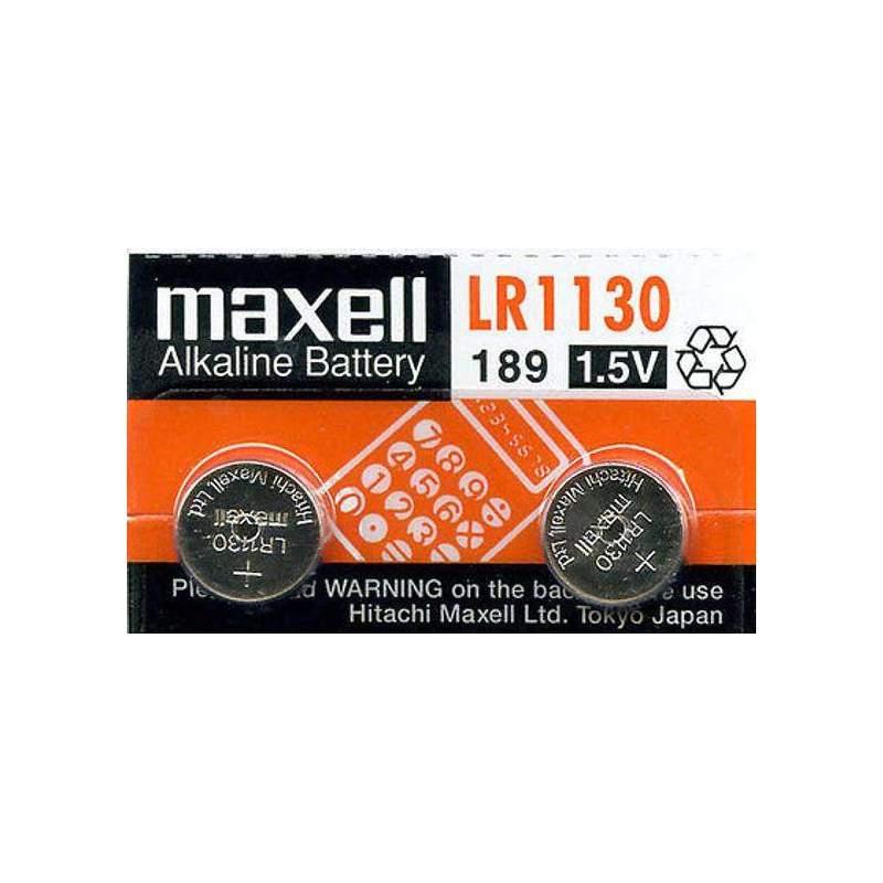Maxell Alcaline 1,5V LR54 par 2