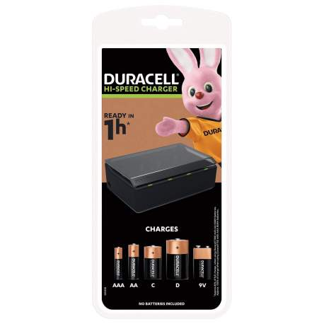 DURACELL CHARGER MULTI 1H CEF22