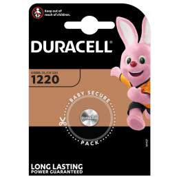 Pile CR1220 Duracell Bouton Lithium 3V