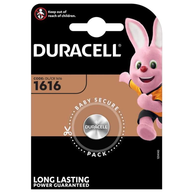 Duracell Lithium 3V CR1616 par 1