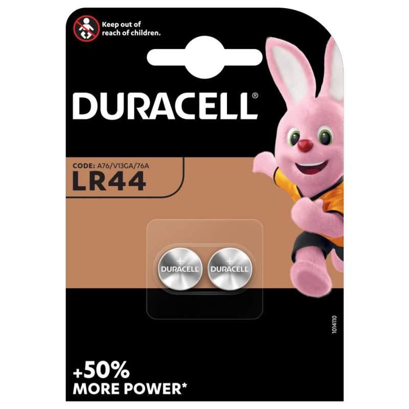 Duracell Alcaline 1,5V LR44 par 2