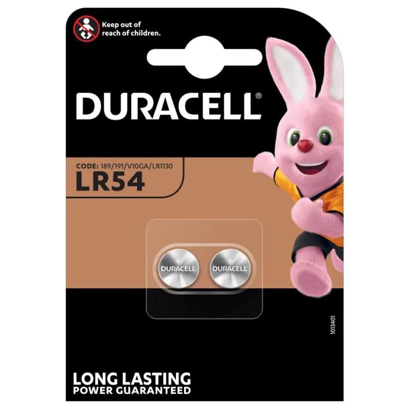 Duracell Alcaline 1,5V LR54 par 2