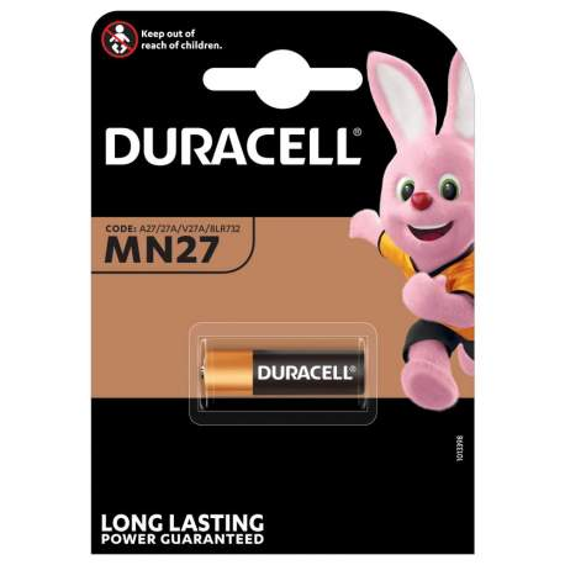 Duracell Alcaline 12V MN27 par 1