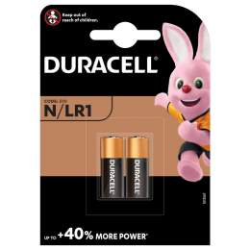 2 Piles N / LR1 / E90 Duracell Alcaline 1,5V