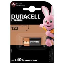 Pile CR123 Duracell Lithium 3V