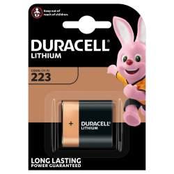 Pile 223 / CR-P2 Duracell Lithium 6V