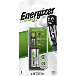 Chargeur Energizer Mini avec 2 piles AA 2000mAh