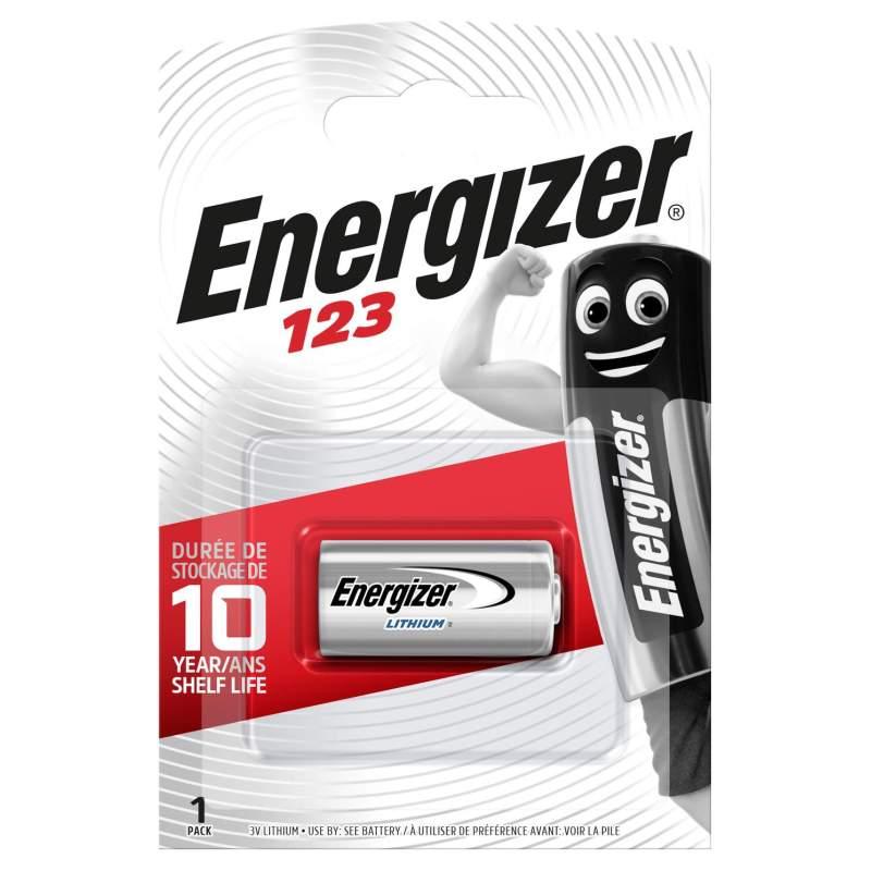 Pile 123 Energizer Lithium 3V