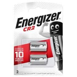 2 Piles CR2 Energizer Lithium 3V