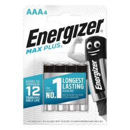 4 Piles Alcalines AAA / LR03 Energizer Max Plus