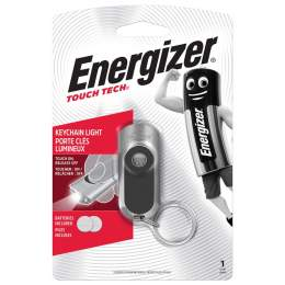 Torche Energizer KeyChain Light Touch Tech avec 2 piles CR2032