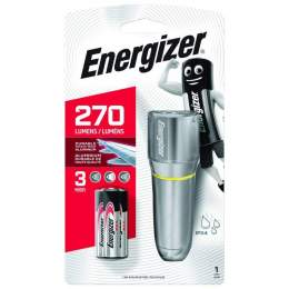 Torche Energizer Vision HD Metal 270lm avec 3 piles AAA
