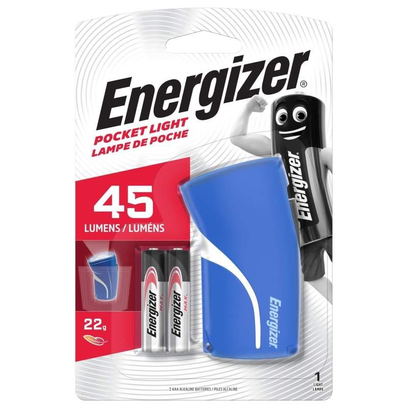 Torche Energizer Pocket Light avec 2 piles AAA