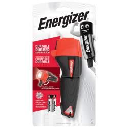 Torche Energizer Impact Rubber avec 2 piles AAA