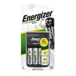 Chargeur Energizer Base avec 4 piles AA 1300mAh