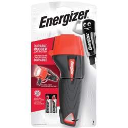 Torche Energizer Impact Rubber avec 2 piles AA