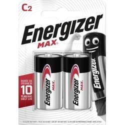 Energizer Alcaline Max C / LR14 par 2