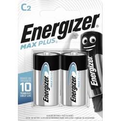 2 Piles Alcalines C / LR14 Energizer Max Plus