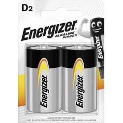2 Piles D / LR20 Energizer Alcaline Power
