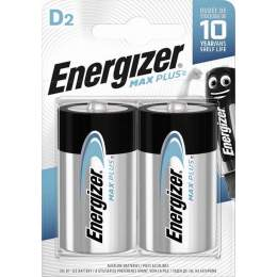 2 Piles Alcalines D / LR20 Energizer Max Plus
