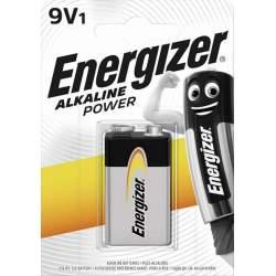 Pile 9V / 6LR61 Energizer Alcaline Power