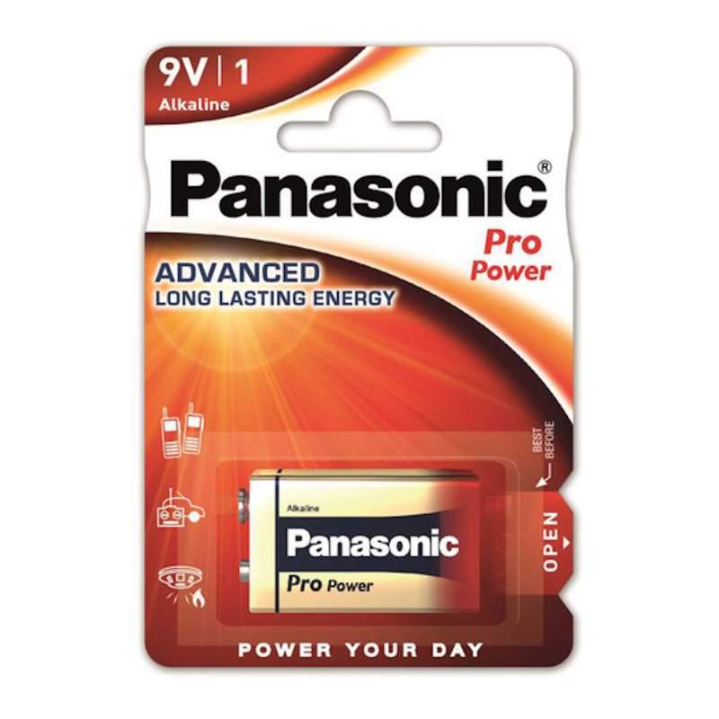 Pile Alcaline 9V / 6LR61 Panasonic Pro Power
