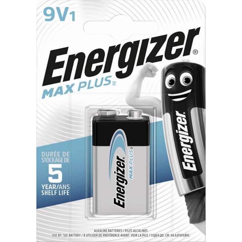 Pile Alcaline 9V / 6LR61 Energizer Max Plus