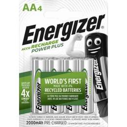 Energizer Rechargeable Power Plus AA / HR6 2000mAh par 4