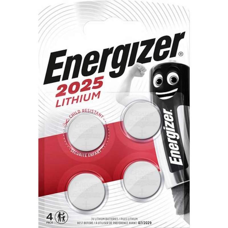 Energizer Lithium 3V CR2025 par 4
