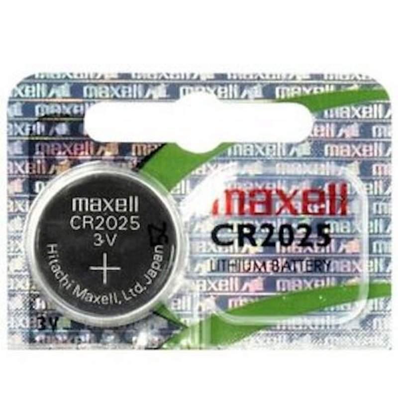 Pile CR2025 Maxell Bouton Lithium 3V