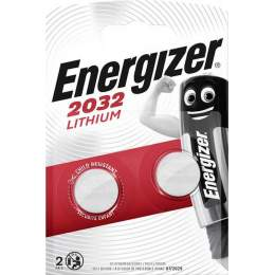 2 Piles CR2032 Energizer Bouton Lithium 3V