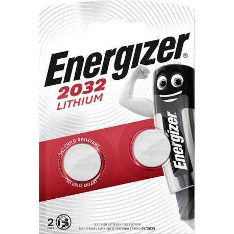 Energizer Lithium 3V CR2032 par 2