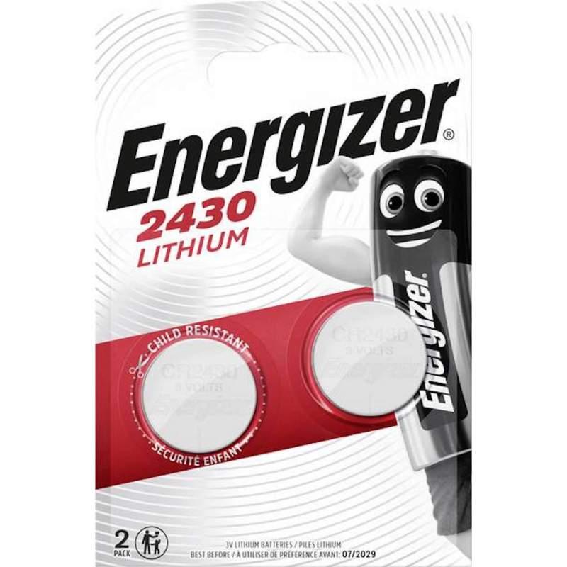 Energizer Lithium 3V CR2430 par 2