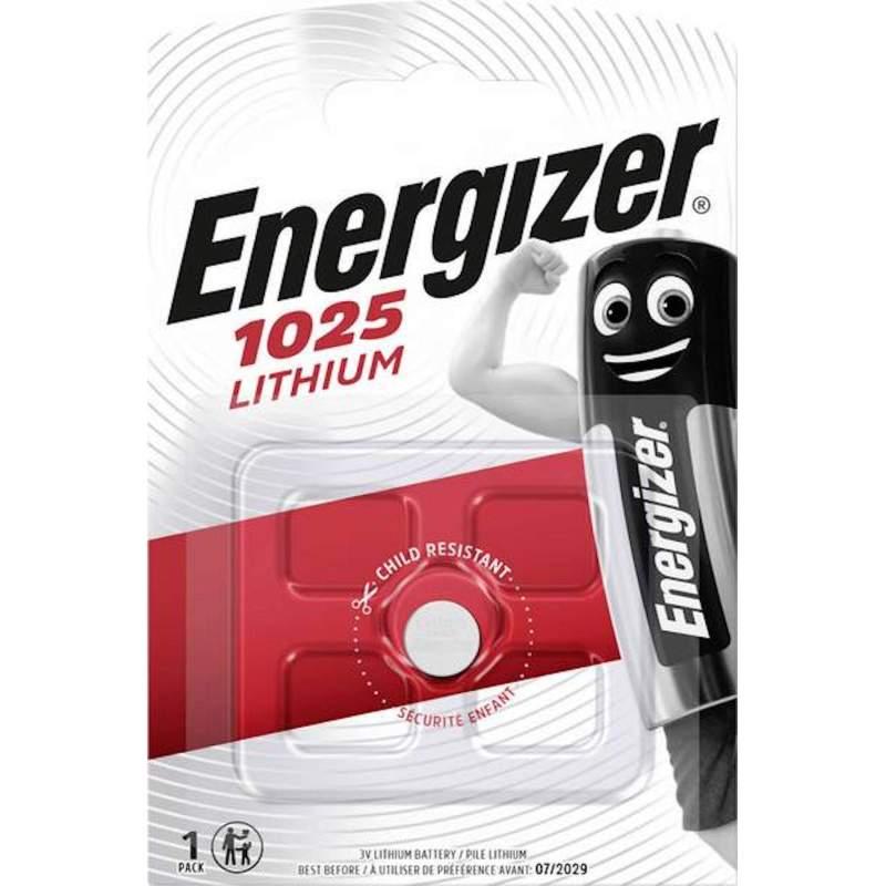 Energizer Lithium 3V CR1025 par 1