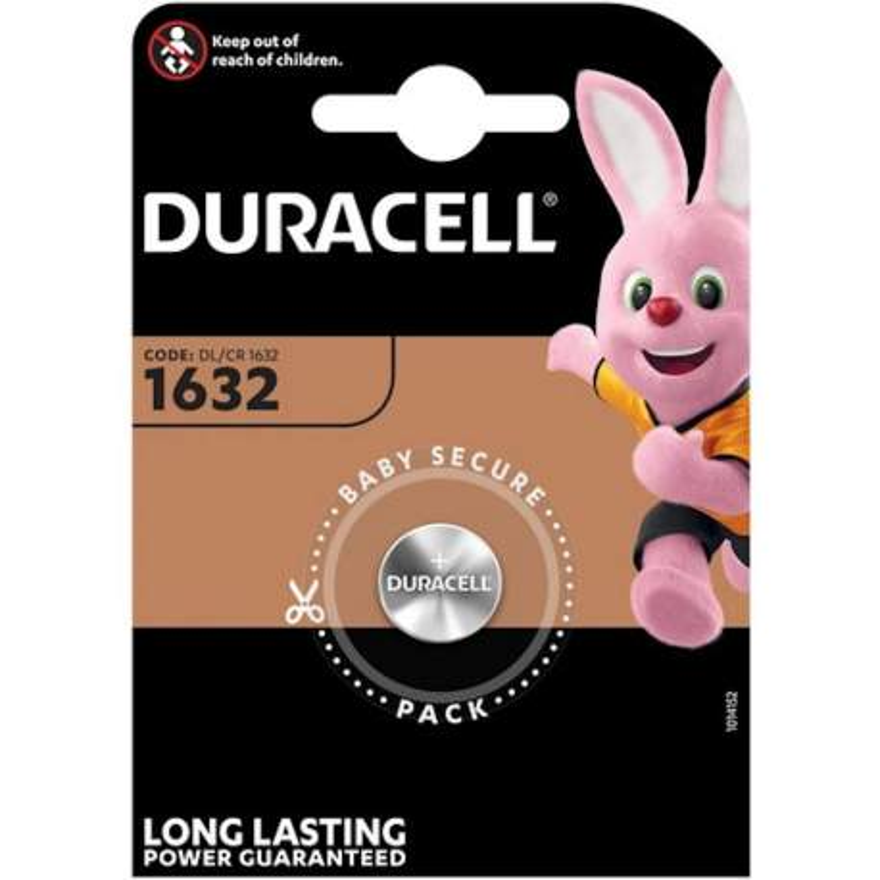 Duracell Lithium 3V CR1632 par 1