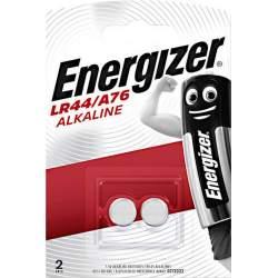 2 Piles LR44 / A76 / V13GA Energizer Alcaline 1,5V