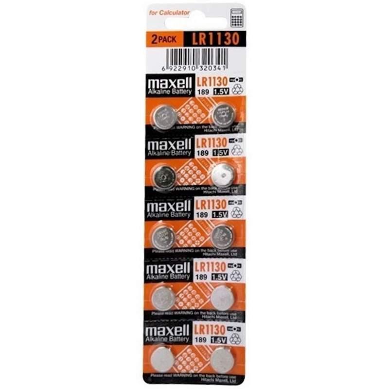Maxell Alcaline 1,5V LR54 par 10