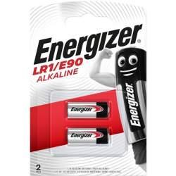 2 Piles LR1 / E90 / N Energizer Alcaline 1,5V